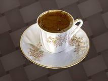 Frischer türkischer Kaffee Lizenzfreie Stockfotos
