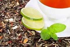 Frischer Tee lizenzfreie stockfotografie