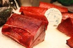 Frischer Thunfisch Stockfotos