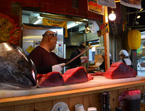 Frischer Thunfisch Lizenzfreie Stockfotos
