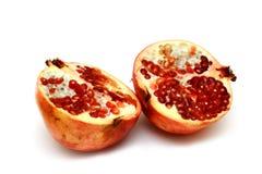 Frischer und geschmackvoller Granatapfel Stockfotos