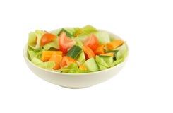Frischer und gesunder Salat an flachem DOF Lizenzfreie Stockfotos