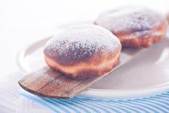 Frischer und köstlicher von Berlin Kuchen Stockfotografie