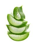 Frisches Aloevera-Blatt Lizenzfreies Stockbild