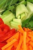 Frisches asiatisches Gemüse Stockbilder