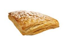 Frisches Brot auf einem weißen Hintergrund Stockfotos