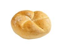 Frisches Brot auf einem weißen Hintergrund Lizenzfreies Stockbild