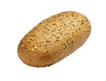 Frisches Brot auf einem weißen Hintergrund Stockfotografie