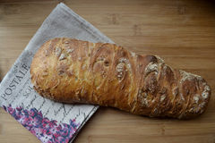 Frisches Brot ciabatta Lizenzfreies Stockbild