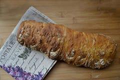 Frisches Brot ciabatta Stockbilder