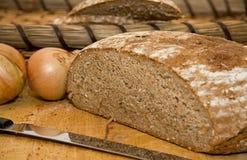 Frisches Brot für einen Imbiß Lizenzfreies Stockbild
