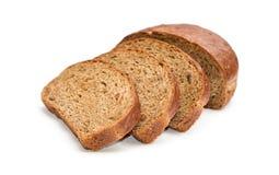 Frisches Brot geschnitten Lizenzfreie Stockfotos