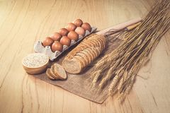 Frisches Brot stockfotos