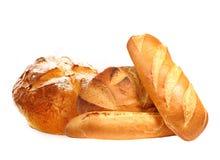 Frisches Brot lokalisiert stockbild