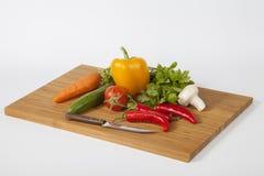Frisches buntes Gemüse Lizenzfreie Stockfotos
