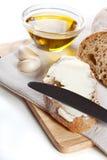 Frisches ciabatta Brot Stockfotografie