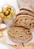 Frisches ciabatta Brot Lizenzfreie Stockfotografie