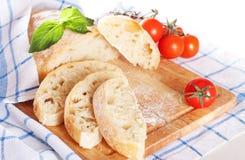 Frisches ciabatta Brot Stockbilder