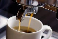 Frisches Espresso Lizenzfreie Stockbilder