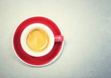 Frisches Espresso Stockbild
