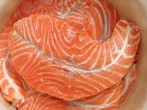Frisches Fischfilet Lizenzfreie Stockfotos