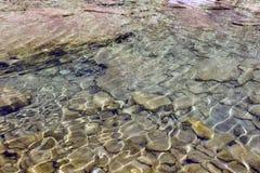 Frisches flüssiges Wasser lizenzfreies stockbild