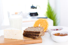 Frisches Frühstück lizenzfreie stockfotografie