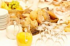 Frisches Frühstück Stockfoto