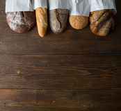 Frisches gebackenes Brot Stockfotografie