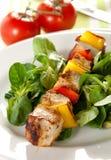 Frisches Geflügel mit Paprika lizenzfreies stockfoto