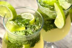 Frisches mojito Cocktail Lizenzfreies Stockfoto