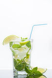 Frisches mojito Cocktail Lizenzfreie Stockfotos
