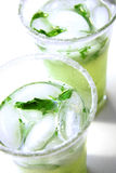Frisches Mojitos stockbild