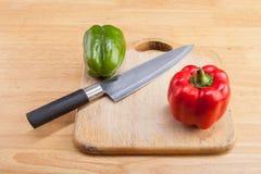 Frisches Obst und Gemüse zu kochen Lizenzfreie Stockfotos