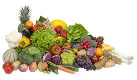 Frisches Obst und Gemüse Lizenzfreie Stockfotos