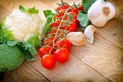 Frisches organisches Gemüse Lizenzfreie Stockfotos