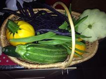 Frisches organisches Gemüse Lizenzfreies Stockbild