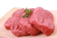 Frisches Rindfleisch Stockfoto
