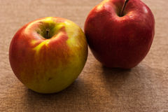 Frisches rotes Apple Stockfotos