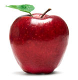 Frisches rotes Apple Stockfoto
