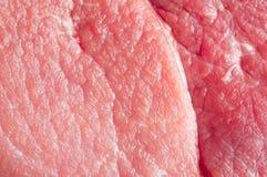 Frisches rotes Fleisch Stockbild