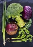 Frisches saftiges Gemüse Lizenzfreie Stockbilder
