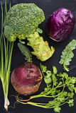 Frisches saftiges Gemüse Lizenzfreie Stockfotografie