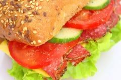 Frisches Sandwich Lizenzfreies Stockfoto