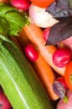 Frisches schönes Gemüse stockbild
