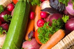 Frisches schönes Gemüse stockbilder
