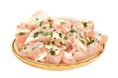 Frisches Schweinefleisch lizenzfreie stockbilder