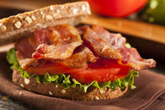 Frisches selbst gemachtes BLT-Sandwich Lizenzfreie Stockfotografie