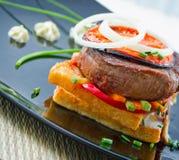 Frisches Steak Lizenzfreie Stockfotos
