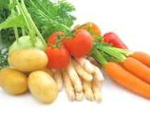 Frisches u. helles Gemüse Lizenzfreies Stockbild